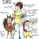 Happy fathersday to all our wonderful dads lovehorses horses horsecamphellip